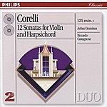 Arthur Grumiaux Corelli: 12 Sonatas For Violin & Harpsichord (2 CDs)