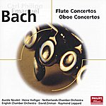 Heinz Holliger Bach, C.P.E.: Concertos For Flute And Oboe