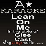 A Glee - Lean On Me (Karaoke Audio Version)