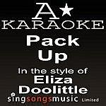 A Eliza Doolittle - Pack Up (Karaoke Audio Version)