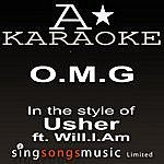 A Usher - O.M.G (Karaoke Audio Version)