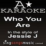 A Jessie J - Who You Are (Karaoke Audio Version)