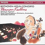 Herman Krebbers Beethoven: Violin Concerto/Egmont Overture