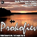 Henry Adolph Prokofiev: Violin Concerto No. 1 In D Major, Op. 19