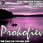 Henry Adolph Prokofiev: Violin Concerto No. 2 In G Minor, Op.63