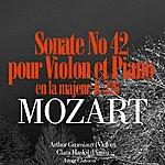 Arthur Grumiaux Mozart: Sonate No. 42 En La Majeur Pour Violon Et Piano, K. 526