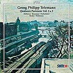 John Holloway Telemann: Quatuors Parisiens, Vols. 2-3