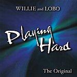 Willie & Lobo Playing Hard
