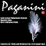 South German Philharmonic Paganini: Concerto For Violin And Orchestra No.1 In D Major Op.6