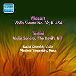"""David Oistrakh Mozart, W.A.: Violin Sonata No. 32, K. 454 / Tartini, G.: Violin Sonata, """"The Devil's Trill"""" (Oistrakh) (1956)"""