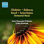 Ernest Ansermet Orchestral Music - Saint-Saens, C. / Chabrier, E. / Ravel, M. / Debussy, C. (Ansermet) (1951-1952)