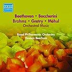 Sir Thomas Beecham Orchestral Music - Mehul, E.-N. / Gretry, A.-E.-M. / Boccherini, L. / Beethoven, L. / Brahms, J. (Beecham) (1953)