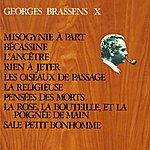 Georges Brassens Georges Brassens X (N°12) … Misogynie A Part