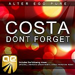 Costa Don't Forget