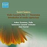 Arthur Grumiaux Saint-Saens, C.: Violin Concerto No. 3 / Introduction Et Rondo Capriccioso / Havanaise (Grumiaux, Fournet) (1957)