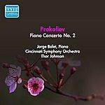 Jorge Bolet Prokofiev, S.: Piano Concerto No. 2 (Bolet, T. Johnson) (1953)