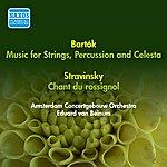 Eduard Van Beinum Bartok, B.: Music For Strings, Percussion And Celesta / Stravinsky, I.: Song Of The Nightingale (Amsterdam Concertgebouw, Beinum) (1955, 1956)