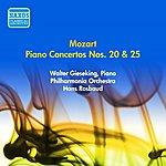 Walter Gieseking Mozart, W.A.: Piano Concertos Nos. 20 And 25 (Gieseking, Rosbaud) (1953)