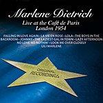 Marlene Dietrich Live At The Café De Paris - London 1954