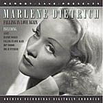 Marlene Dietrich Fallen In Love Again