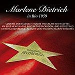 Marlene Dietrich Marlene Dietrich In Rio 1959