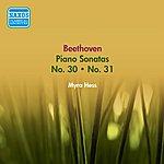 Myra Hess Beethoven, L. Van: Piano Sonatas Nos. 30 And 31 (Hess) (1954)