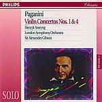 Henryk Szeryng Paganini: Violin Concertos Nos. 1 & 4