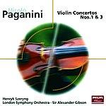 Henryk Szeryng Paganini: Violin Concertos Nos.1 & 3