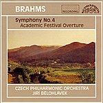Czech Philharmonic Orchestra Brahms: Symphony No. 4, Festive Overture