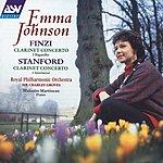 Emma Johnson Finzi: Clarinet Concerto; 5 Bagatelles / Stanford: Clarinet Concerto; 3 Intermezzi
