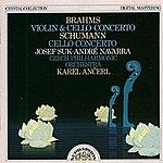 Josef Suk Brahms, Schumann: Violin And Cello Concertos