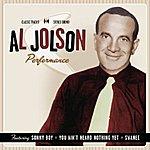 Al Jolson Performance