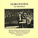 Clara Haskil Mozart: Piano Concerto No. 20 / Hindemith: 4 Temperaments (Haskil, Hindemith) (1957)
