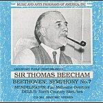 Sir Thomas Beecham Beethoven - Mendelssohn - Delius