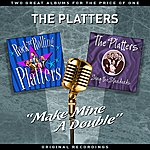 """The Platters """"Make Mine A Double"""" - Two Great Albums For The Price Of One"""