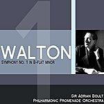 Sir Adrian Boult Walton: Symphony No. 1 In B -Flat Minor