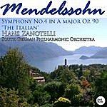 "South German Philharmonic Mendelssohn: Symphony No.4 In A Major Op.90 ""the Italian"""