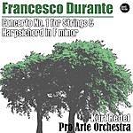 Kurt Redel Durante: Concerto No. 1 For Strings & Harpsichord In F Minor