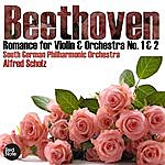 Alfred Scholz Beethoven: Romance For Violin & Orchestra No. 1 & 2