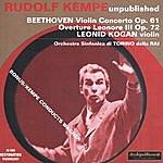 Rudolf Kempe Rudolf Kempe Unpoblished: Beethoven - Violin Concerto