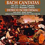 Berlin Philharmonic Orchestra Bach: Cantatas No.211 (Coffee Cantata),No.212 (Peasant Cantata) (Stereo Remaster)