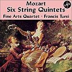 Fine Arts Quartet Mozart: Six String Quintets (Complete) [Vox Reissue]
