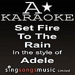 A Adele - Set Fire To The Rain