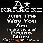 A Bruno Mars - Just The Way You Are (Karaoke Audio Version)