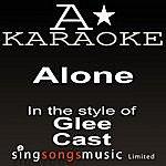 A Glee Cast - Alone (Karaoke Audio Version)