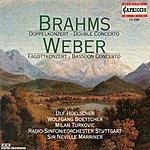Neville Marriner Weber, C.M. Von: Bassoon Concerto, Op. 75 / Andante E Rondo Ungarese / Brahms, J.: Double Concerto, Op. 102