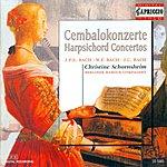 Christine Schornsheim Bach, C.P.E.: Keyboard Concerto, Wq. 14 / Bach, W.F.: Harpsichord Concerto, Fk. 41 / Bach, J.C.: Harpsichord Concerto, W. C73