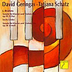 David Geringas Brahms: Cello Sonatas Nos. 1 & 2