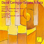 David Geringas Strauss: Cello Sonata - Schulhoff: Cello Sonata
