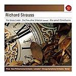 Fritz Reiner Strauss: Four Last Songs; Die Frau Ohne Schatten; Also Sprach Zarathustra, Op. 30